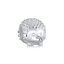 Nenalina Charm-Einhänger Igel Tier Bead Anhänger 925 Silber