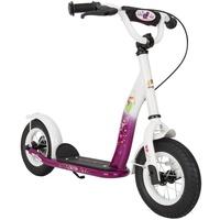 "Bikestar Classic Edition 10"" berry/weiß"