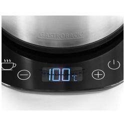 Gastroback 42426 Design Wasserkocher  Wasserkocher, 2200 Watt  1.7 Liter,  ed... (Wasserkocher)