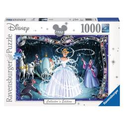 Ravensburger Puzzle Walt Disney Cinderella, 1000 Puzzleteile bunt
