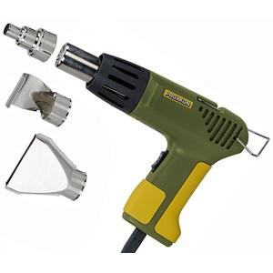 PROXXON 27130 MICRO Heißluftpistole MH550 mit Zubehör