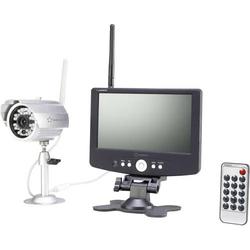 Renkforce 37370A1 Funk-Überwachungskamera-Set 4-Kanal mit 1 Kamera 1280 x 720 Pixel 2.4GHz