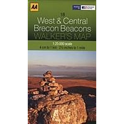 West & Central Brecon Beacons - Buch