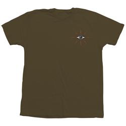 Tshirt TOY MACHINE - Tm Loyal Tee Military (MILITARY)