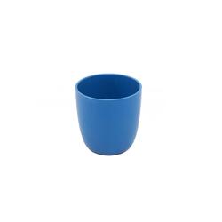 ajaa! Kindergeschirr-Set Bio Becher 100% natürlich (1-tlg), Zuckerrohr, 100% natürlich blau