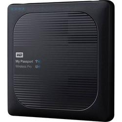 WD My Passport Wireless Pro 4TB WLAN-Festplatte USB 2.0, USB 3.0, Kartenleser, WLAN 802.11 b/g/n/ac