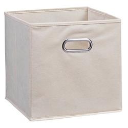 Zeller Aufbewahrungsbox 30,0 l beige 32,0 x 32,0 x 32,0 cm