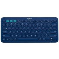 Logitech K380 Bluetooth Multi-Device Tastatur DE blau (920-007567)