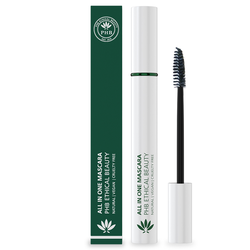 PHB Ethical Beauty Mascara Eye Make-up All In One Natural Mascara Black Black