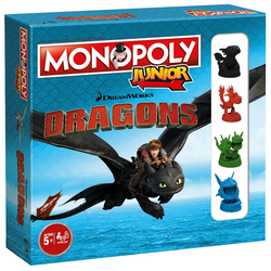 Winning Moves Spiel, Brettspiel Monopoly Junior Dragons 2nd Edition (2019)