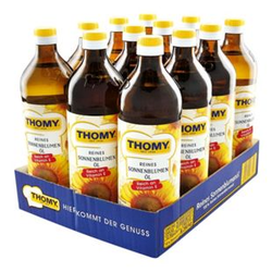 Thomy Sonnenblumenöl 750 ml, 12er Pack