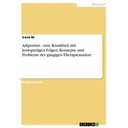 Adipositas - eine Krankheit mit kostspieligen Folgen: Konzepte und Probleme der gängigen Therapieansätze: eBook von Irene M
