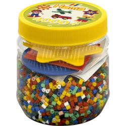 Hama Dose Bunt+farbige Platten 4000Stück 2052