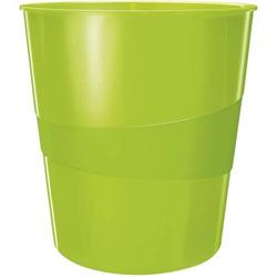Papierkorb Wow 15l Polystyren grün