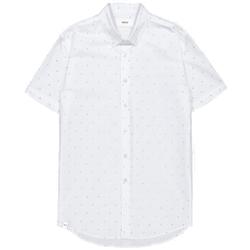 Makia - Anchors SS Shirt White - Hemden - Größe: S