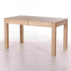 Tisch aus Eiche Massivholz mit Kulissenauszug