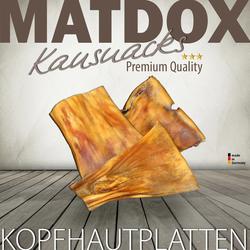 (22,49 EUR/kg) MATDOX Premium Rinder Kopfhautplatten hart 1000 g