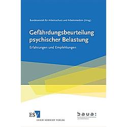 Gefährdungsbeurteilung psychischer Belastung - Buch