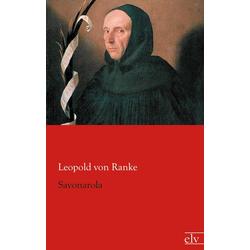 Savonarola als Buch von Leopold von Ranke