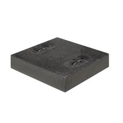 Doppler Design Granitplatte,anthrazit,55 kg