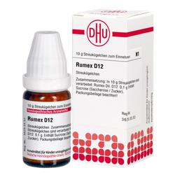 RUMEX D 12 Globuli 10 g