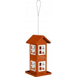 ZOLUX Vogel-Futterhaus mit 8 Fenstern Orange
