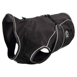 Hunter Hundemantel Uppsala Softshell schwarz, Größe: 75 cm
