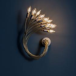 Turciù 9 - Wall Lamp - Messing/ Nickel