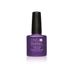 CND Nagellack Shellac Color Coat Video Violet Video Violet