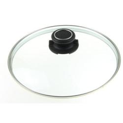 GASTROLUX Glasdeckel rund 20 cm für Pfannen und Töpfe