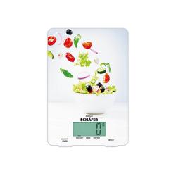 Schäfer Küchenwaage Digitale Küchenwaage Salat Design