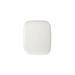 Marimekko OIVA Teller 15x12 cm Weiß
