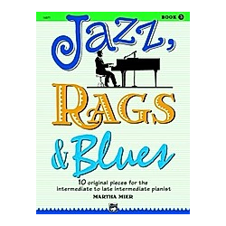 Jazz  Rags & Blues  for piano. Martha Mier  - Buch