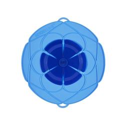 Kochblume Überkochschutz Überkochschutz blau 25.5 cm