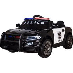 Kinderfahrzeug Elektro Auto Kinder Auto Polizei Design 12V 2x35W 2,4Ghz USB MP3 Sirene