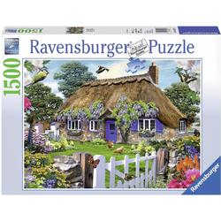 Ravensburger Puzzle Cottage in England, 1500 Puzzleteile, Made in Germany, FSC® - schützt Wald - weltweit