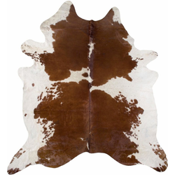 Fellteppich Rinderfell 5, LUXOR living, tierfellförmig, Höhe 3 mm, echtes Rinderfell 130 cm x 190 cm x 3 mm