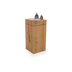 Beistelltisch V-Cube(LBH 34x34x73 cm) Voglauer