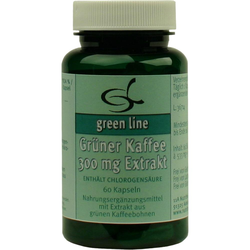 Grüner Kaffee 300 mg Extrakt Kapseln