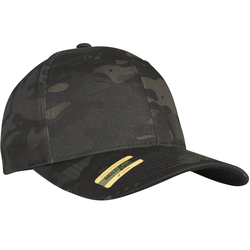 Brandit Flexfit Multicam® Cap black multicam, Größe S/M