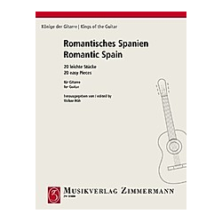 Romantisches Spanien  Gitarre - Buch