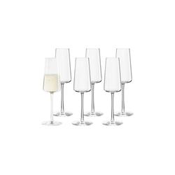 Stölzle Champagnerglas POWER Champagnerglas 240 ml 6er Set (6-tlg)