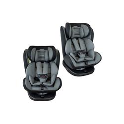 XOMAX Autokindersitz XOMAX 916 Auto Kindersitz Drehfunktion und ISOFIX für Kinder 0-36kg, 8,60 kg, Für Kinder von 0Kg bis 36Kg (ca. 1 - 12 Jahre) grau