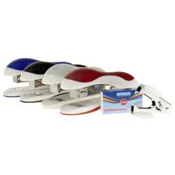 STYLEX® Heftmaschine-Set, Tackerset inkl. Entklammerer und Heftklammern, 1 Set