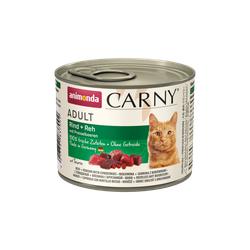 ANIMONDA Carny Adult Rind + Reh mit Preiselbeeren 12 x 200 g