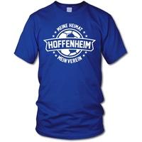 Fanartikel shirtloge - - Meine Heimat, Mein Verein - Fan T-Shirt - Größe L