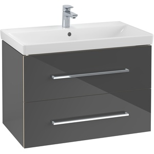 Villeroy & Boch Avento Waschbeckenunterschrank 2 Auszüge 780 x 514 x 452 mm - Crystal Grey - A89100B1