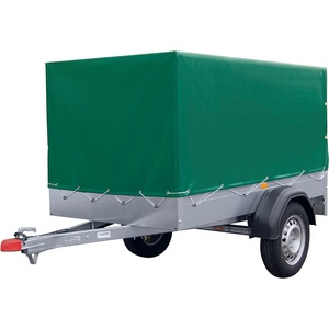STEMA PKW-Anhänger AN 750, max. 590 kg, inkl. Plane silberfarben