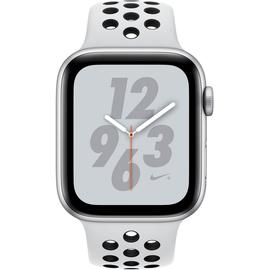 (GPS) 40mm Aluminumgehäuse silber mit Nike Sportarmband pure platinum / schwarz