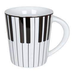Könitz Becher Piano 380 ml, Porzellan